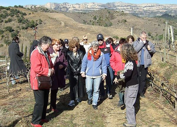 Wine Pleasures Group in Priorat (Jan 09)