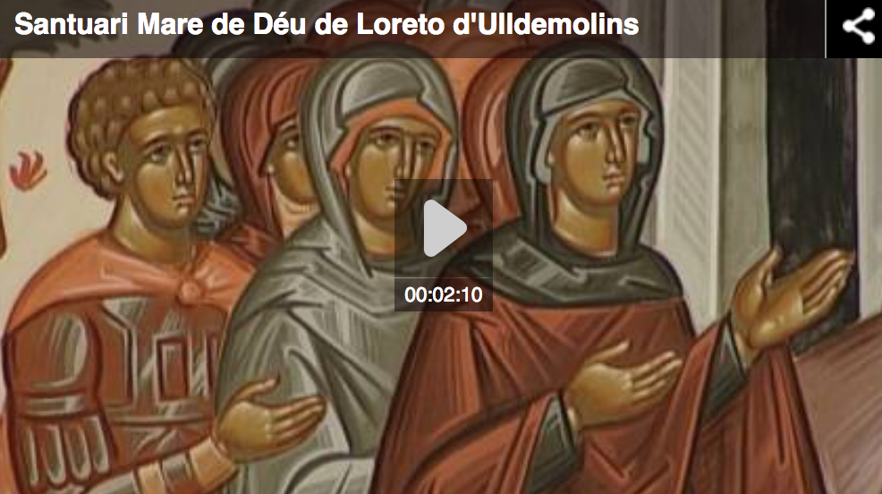 El Santuari de la Mare de Déu de Loreto a Ulldemolins